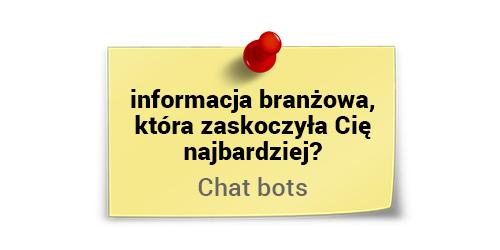 Chat Boty - narzędzie generujące sprzedaż. Lech c. Król