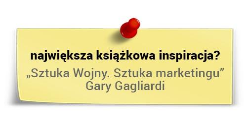 Największa książkowa inspiracja - Jacek Kotarbiński