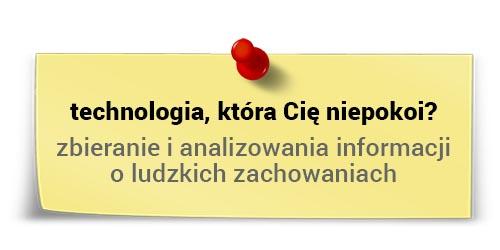 Zbieranie ianalizowanie informacji oludzkich zachowaniach - Jacek Kotarbiński