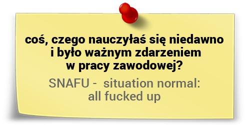 Julia Izmałkowa onowych umiejętnościach - SNAFU