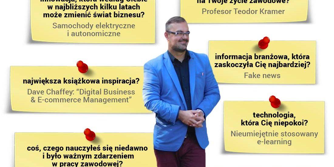 Michał Dziekoński - trener na bloku Mastering Metrics programu Diploma in Professional Marketing