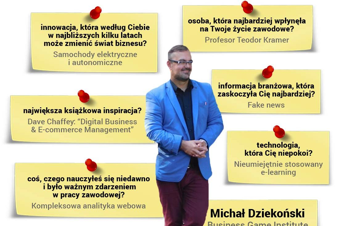 Michał Dziekoński - trener na bloku Mastering Metrics programu Diploma in Professional Marketing