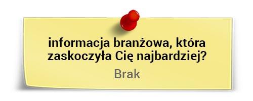 Marek Staniszewski ociekawostkach branżowych