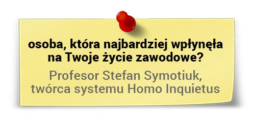Marek Staniszewski - największa inspiracja książkowa Marka Staniszewskiego?