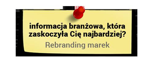 Maciej Tesławski ociekawostkach zbranży - rebranding marek