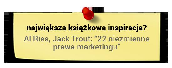 Maciej Tesławski - książkowa inspiracja