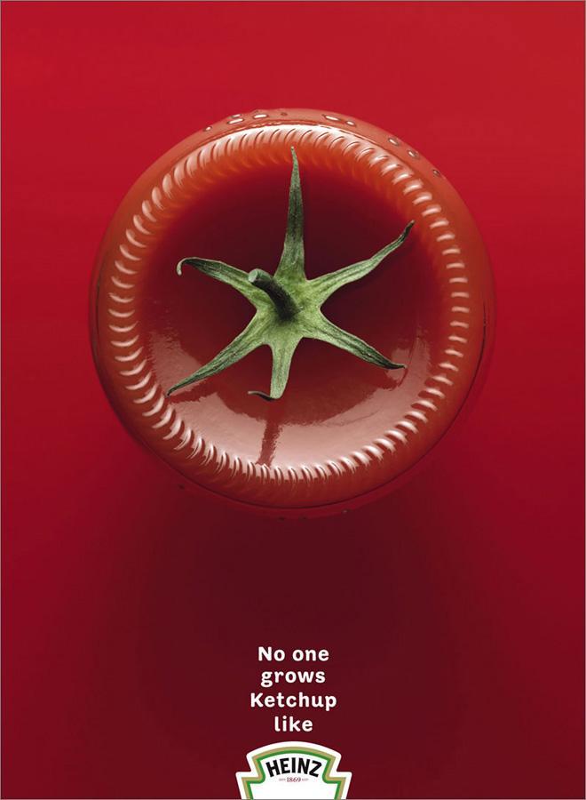 Heinz reklama. Estetycznie = prestiżowo