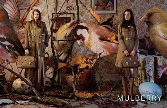 Tim walker muldberry - zdjęcia pozbawione retuszu