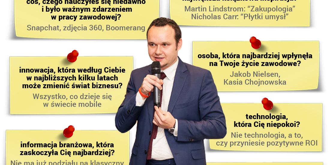 Artur Maciorowski - wykładowca programu Diploma in Professional Marketing