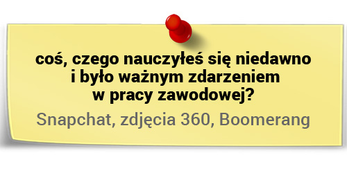 Artur Maciorowski onauce - Snapchat, Zdjęcia 360, Boomerang