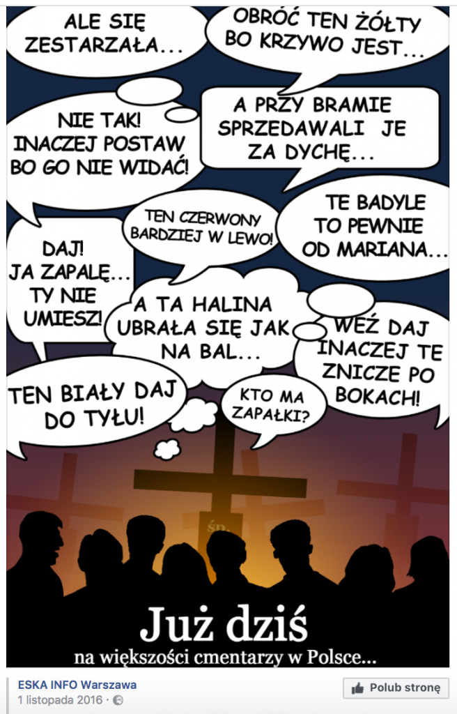 Marketing Wszystkich Świętych - ESKA