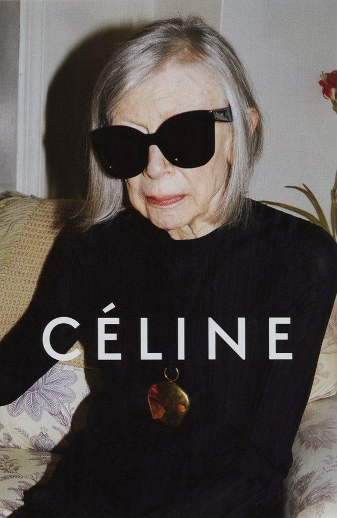 Kampania reklamowa Céline & Joan Didion