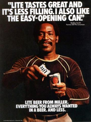 Kampania reklamowa  Miller Lite: Great Taste, Less Filling