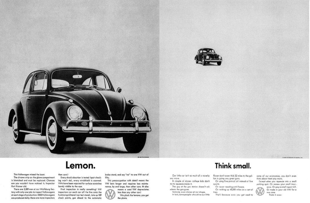 Kampania reklamowa Volkswagen Think Small