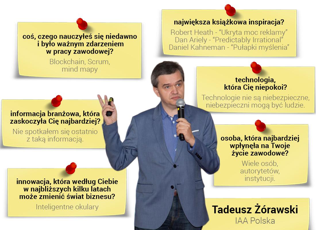Tadeusz Żórawski - specjalista ds komunikacji marketingowej