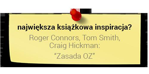 Szymon Midera - największa książkowa inspiracja