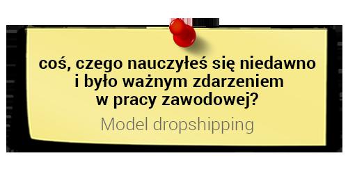 Szymin Midera onauce: model dropshipping