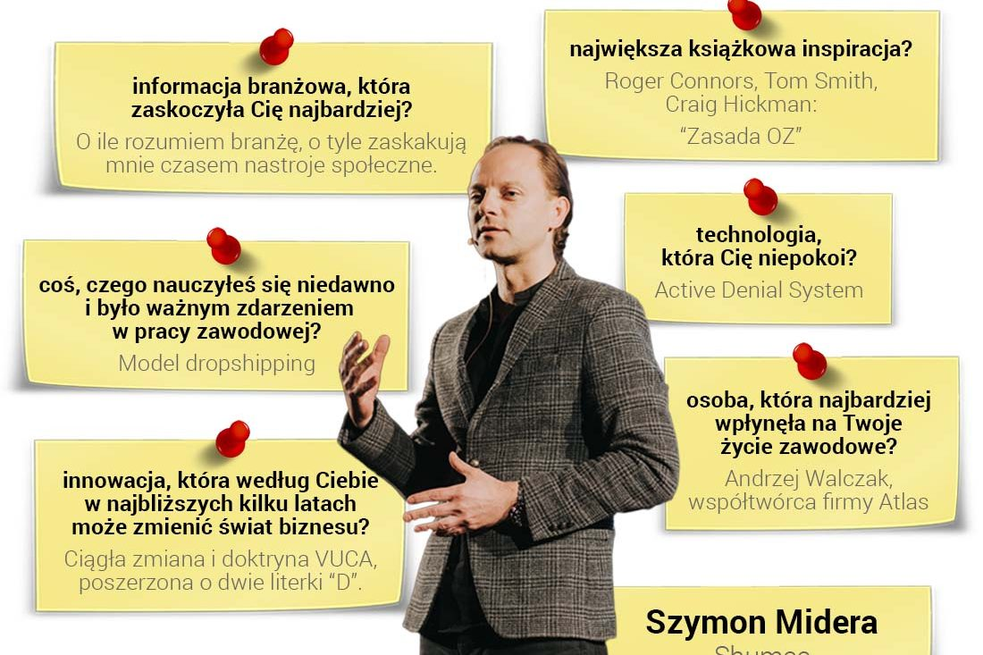 Szymon Midera - współwłaściciel społecznościowej platformy zakupowej Shumee