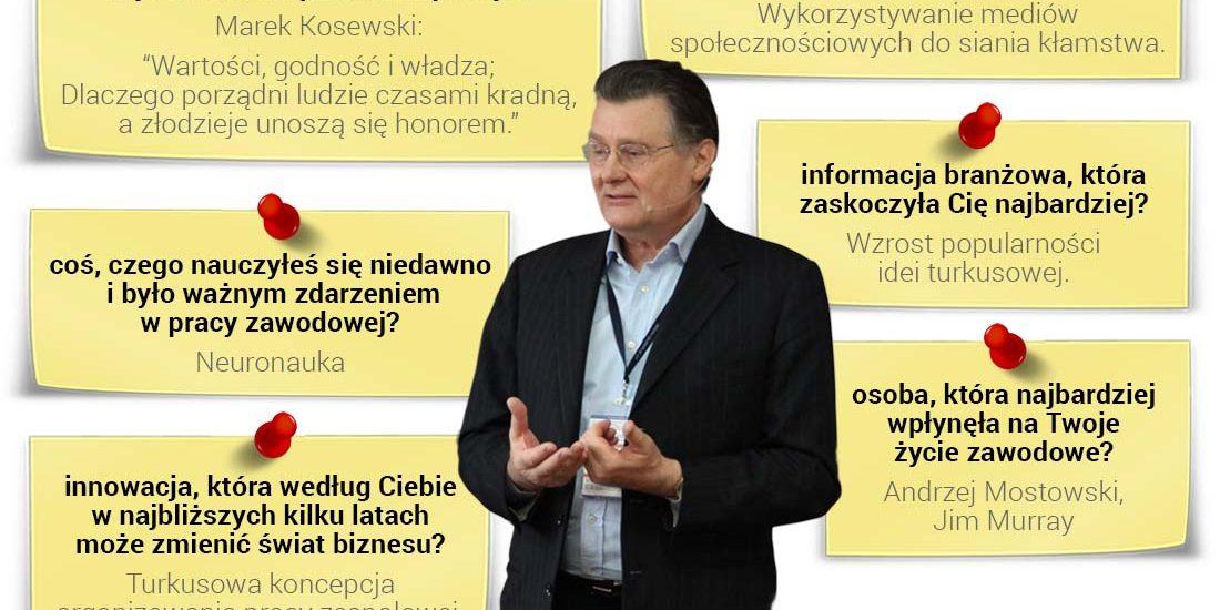 Prof. Andrzej Blikle - popularyzator koncepcji turkusowych organizacji