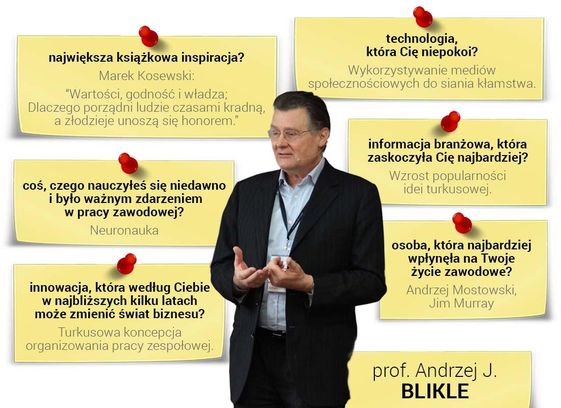 Prof. Andrzej Blikle oskutecznym zarządzaniu zespołem