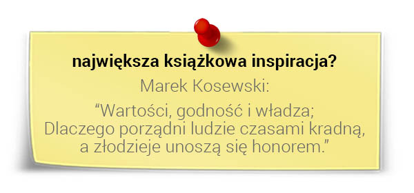 Prof. Andrzej Blikle - największa książkowa inspiracja