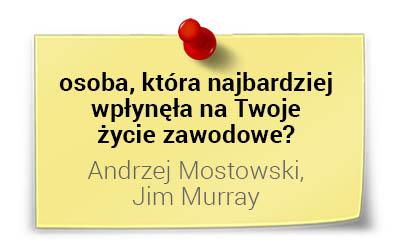 Kto wpłynął nażycie zawodowe prof.Andrzeja Blikle?