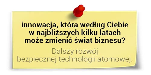 Jarosław Spychała oinnowacjach: rozwój bezpiecznej technologii atomowej