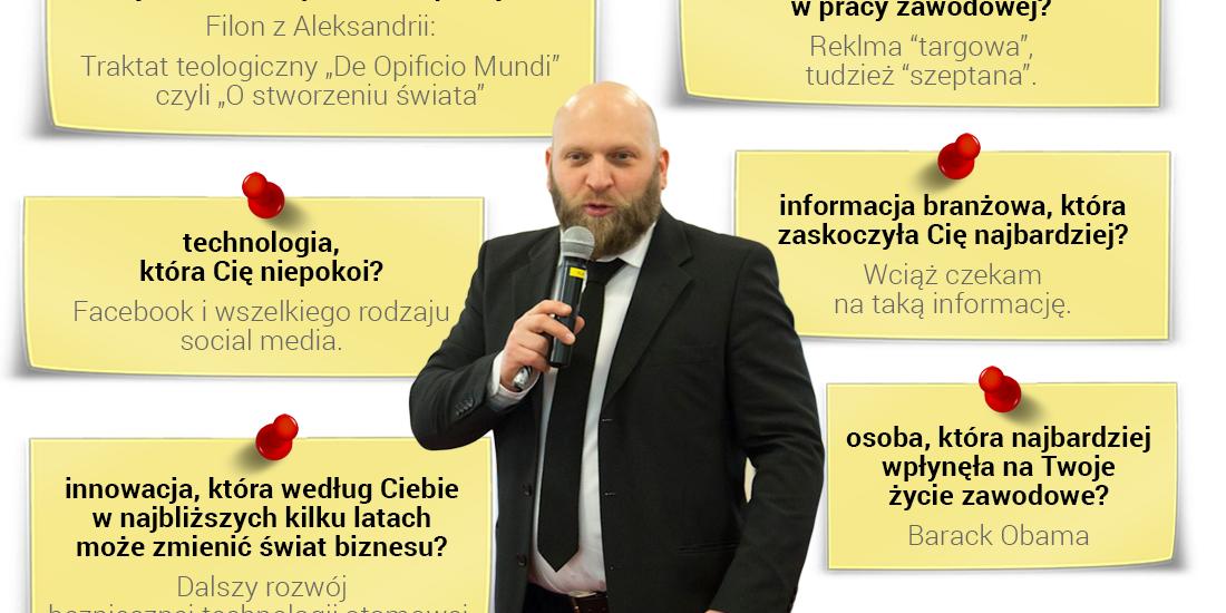 Jarosław Spychała - prelegent Questus Academy
