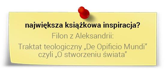 Jarosław Spychała - największa książkowa inspiracja