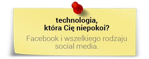 Jarosław Spychała otechnologiach: Facebook iinne social media