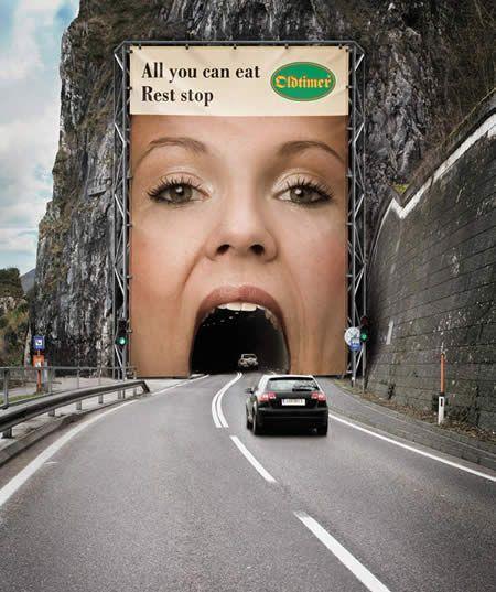 Nieprzewidywalność, zaskoczenie - kreatywne banery reklamowe