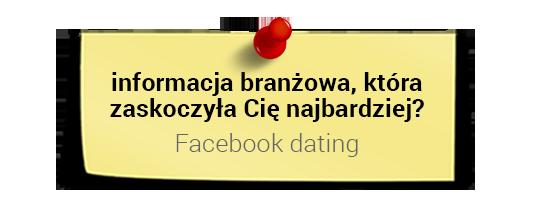 Prof. Dariusz Jemielniak  ociekawostkach zbranży: Facebook dating
