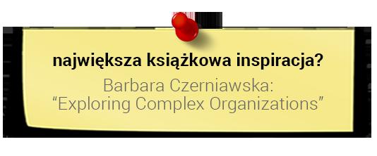 Prof. Dariusz Jemielniak - największa książkowa inspiracja