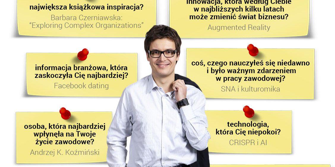 prof. Dariusz Jemielniaka - specjalista od zarządzania wysokimi technologiami