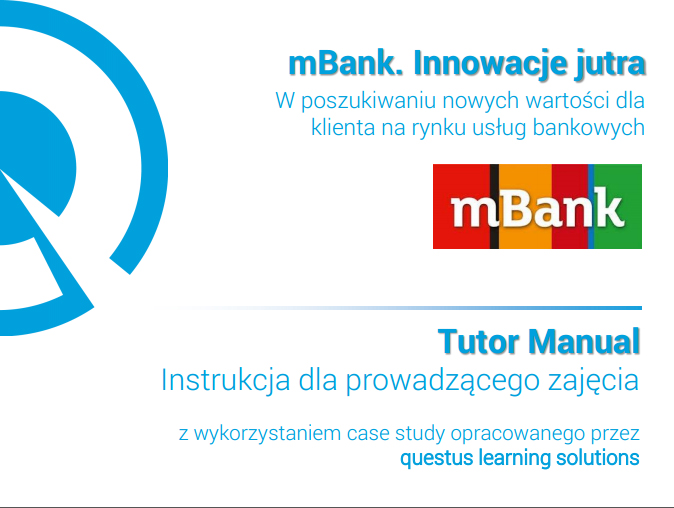 mBank innowacje jutra tutor manual case study questus
