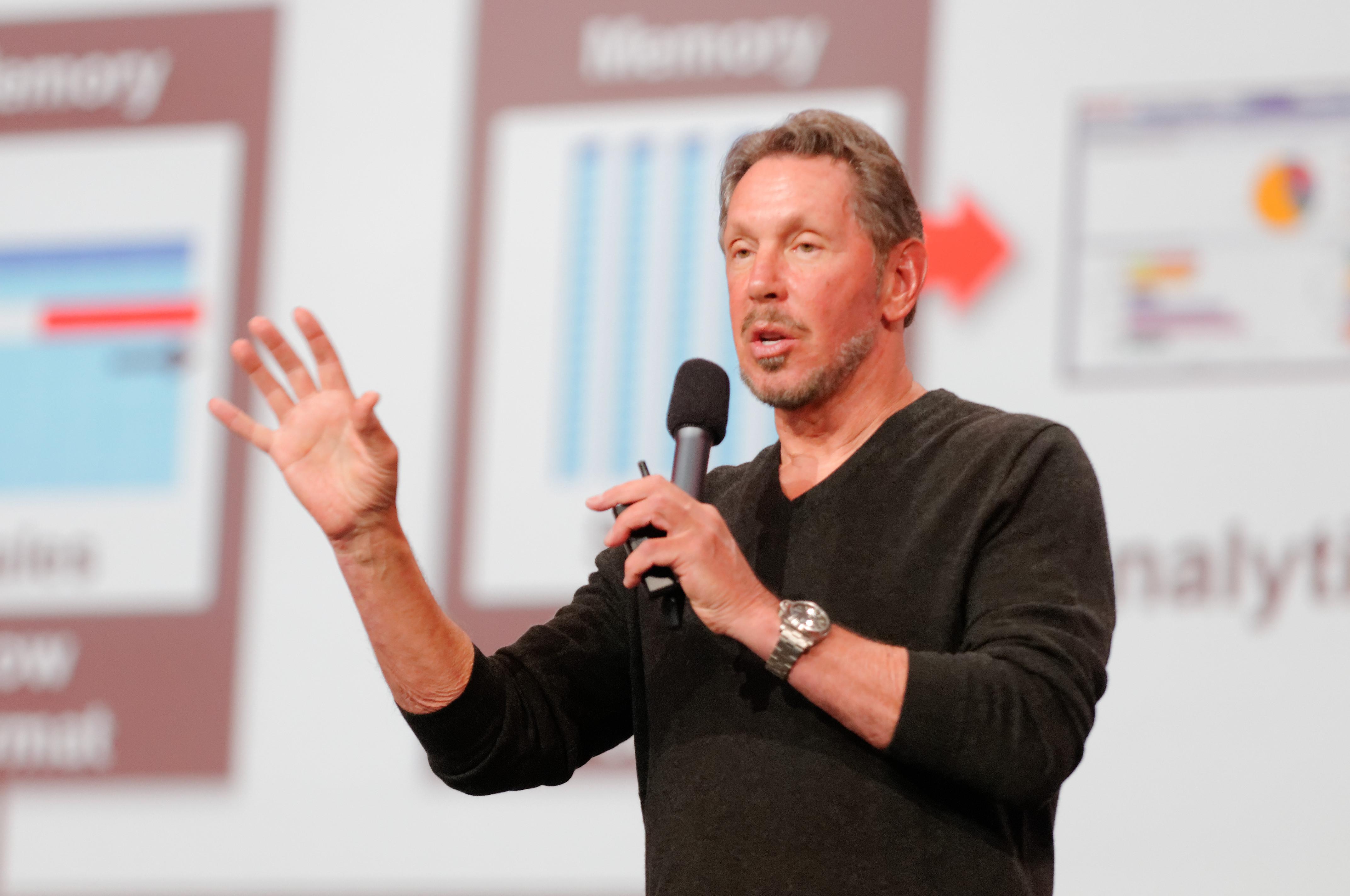 8 miliarderów, którzywybrali biznes zamiast studiów - Larry Ellison (Oracle)