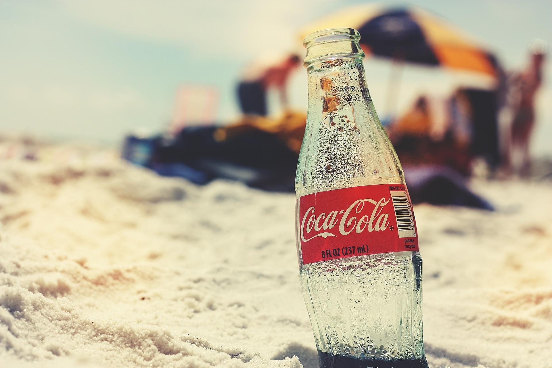 Marketing 4P:  promocja Coca-Coli