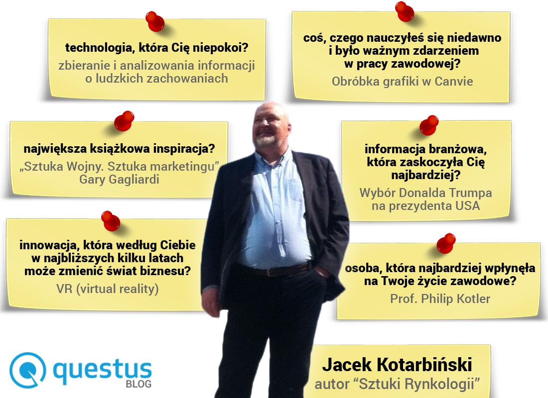 Wywiad zJackiem Kotarbińskim