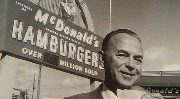 ray kroc mcdonald's sprzedaż
