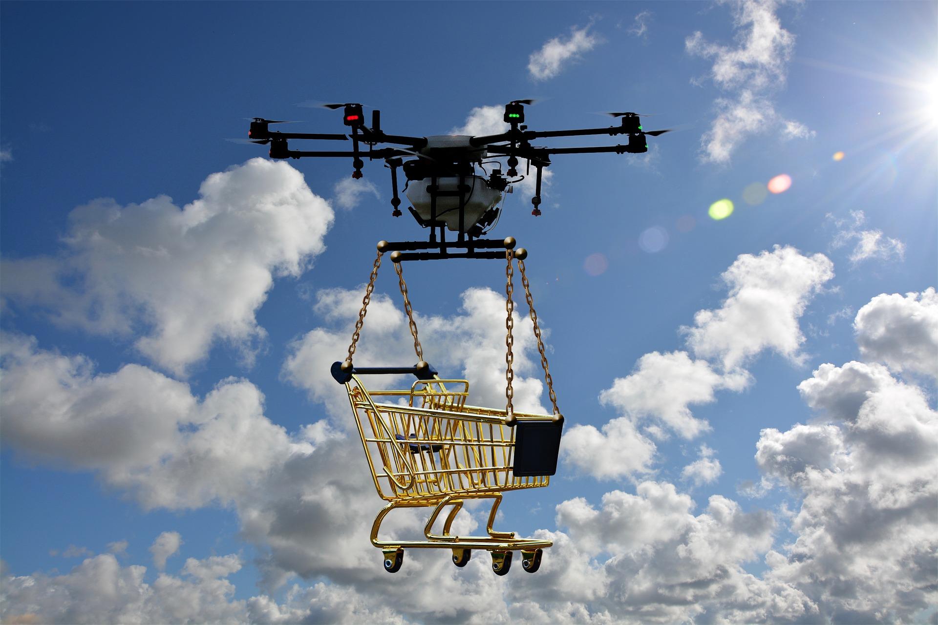 Błyskawiczne dostawy produktów kupionych online - jak będzie w2035?