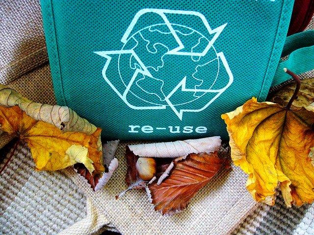 Produkty pochodzące zrecyklingu orazbiodegradowalne