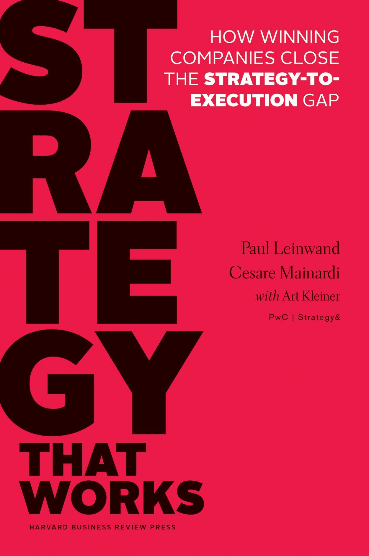 Leinwand, Mainardi: Strategy That Works