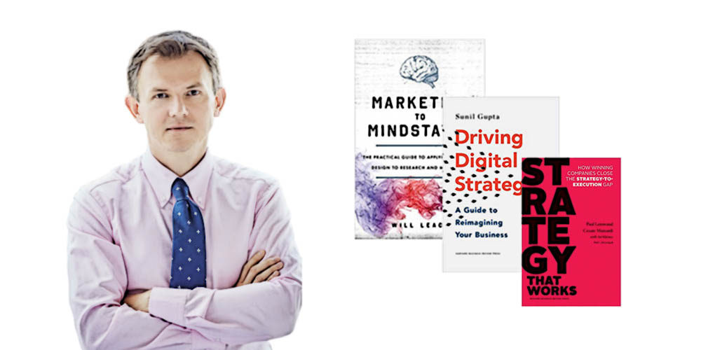 Jacek Pogorzelski rekomenduje: Leinwand, Driving Digital Strategy, Brand-Aid i Amazon