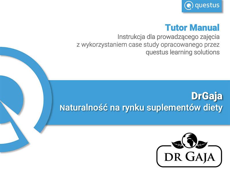 drgaja tutor manual