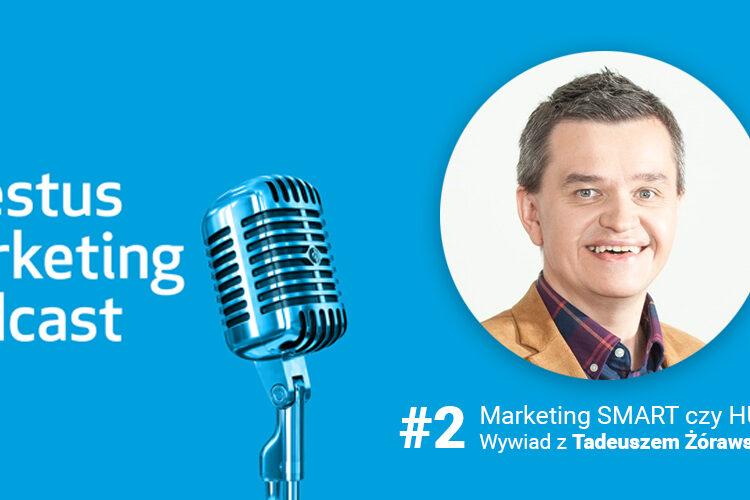 Marketing podcast: Bardziej SMART czybardziej HUMAN? Jaki marketing ma przyszłość?